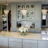 Custom light gray inset kitchen (1)