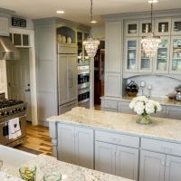 Custom light gray inset kitchen (2)